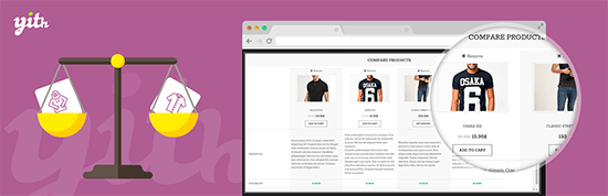 yith woocommerce compare plugin