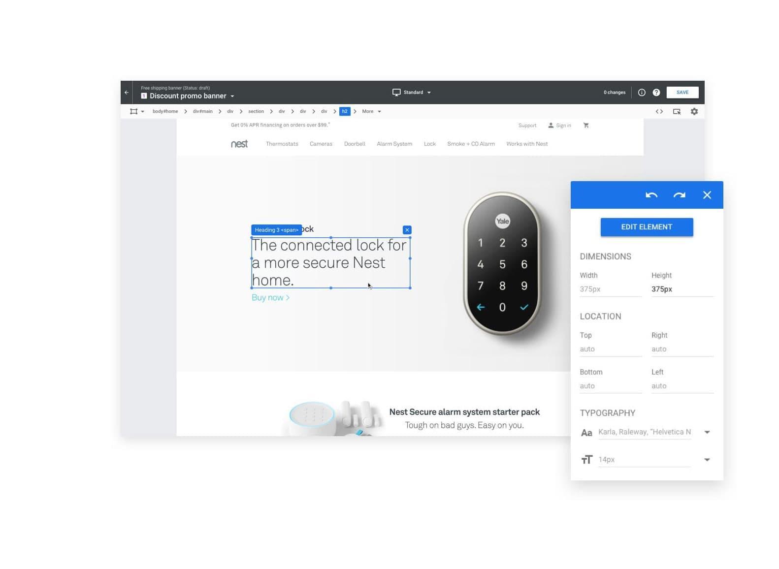 Google optimize A/B testing tool