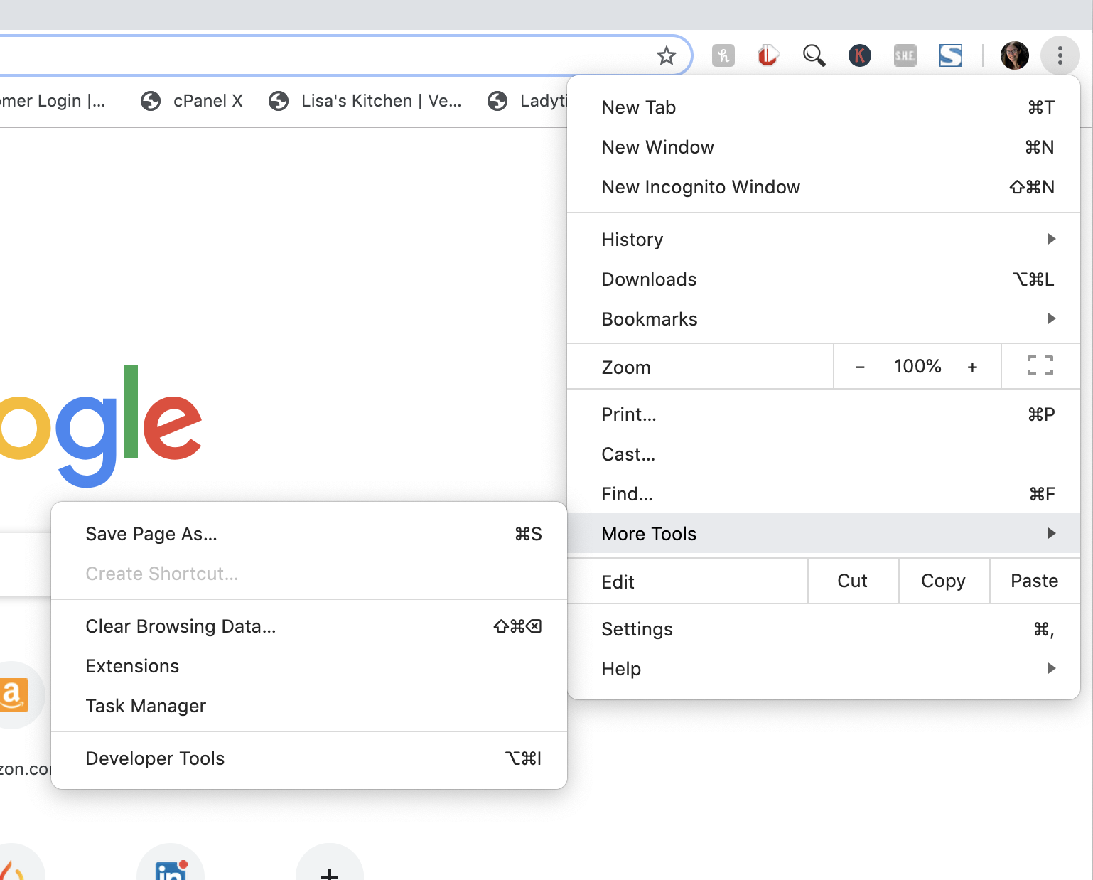 how to clear browser cache in google chrome