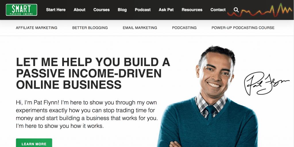 pat flynn affiliate marketing side hustle