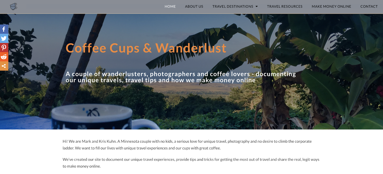 use a travel blog for affiliate marketing