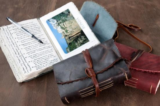 handmade journal as gift for side hustler