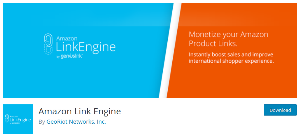 amazon link engine wordpress plugin for amazon affiliates