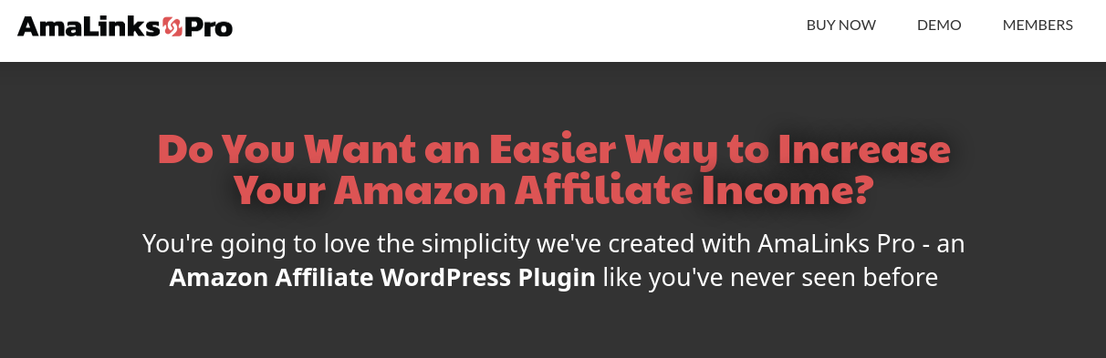amalinks pro amazon affiliate wordpress plugin