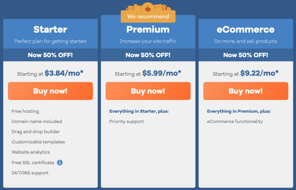gator website builder pricing plans features
