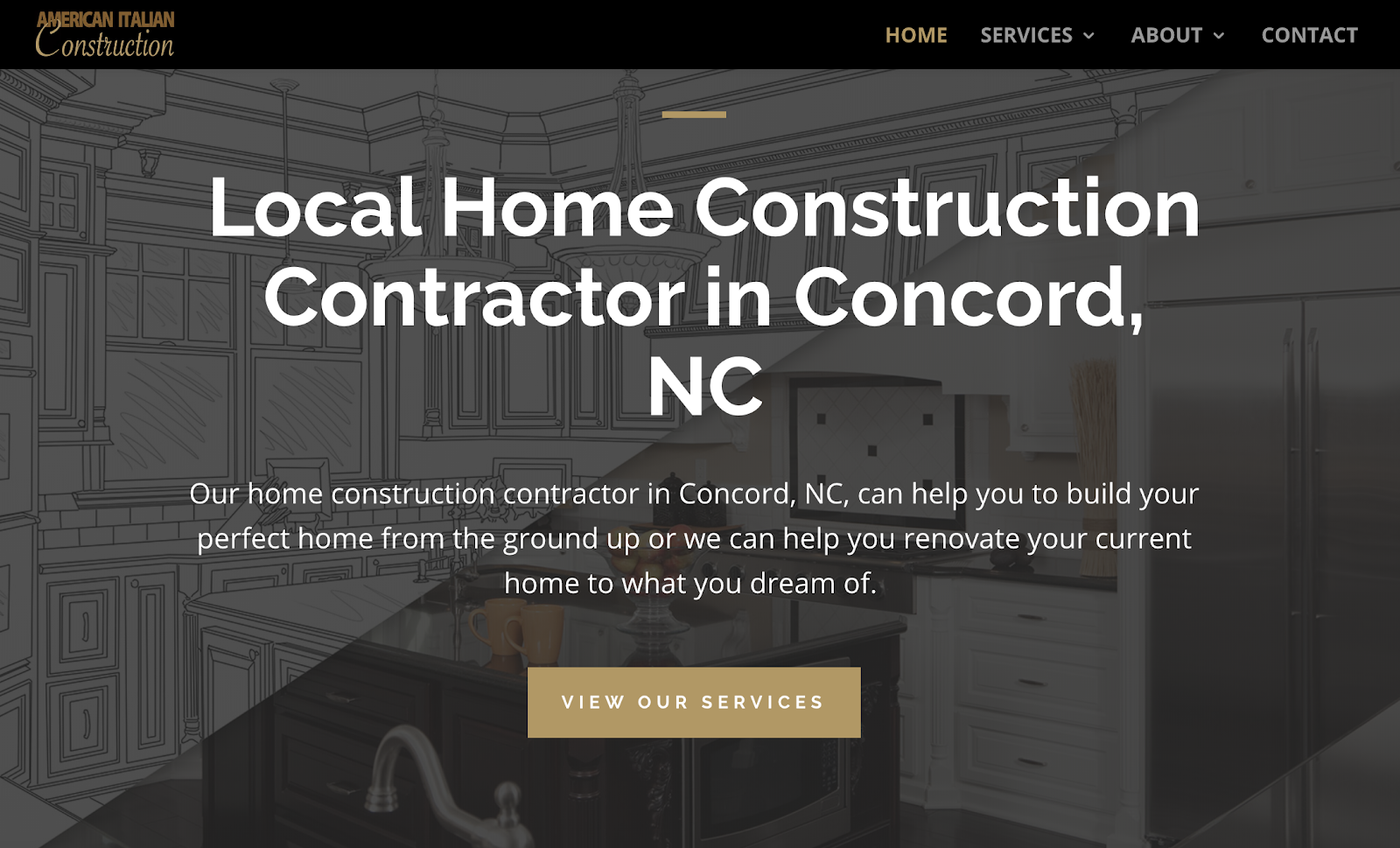 american italian construction side hustle website