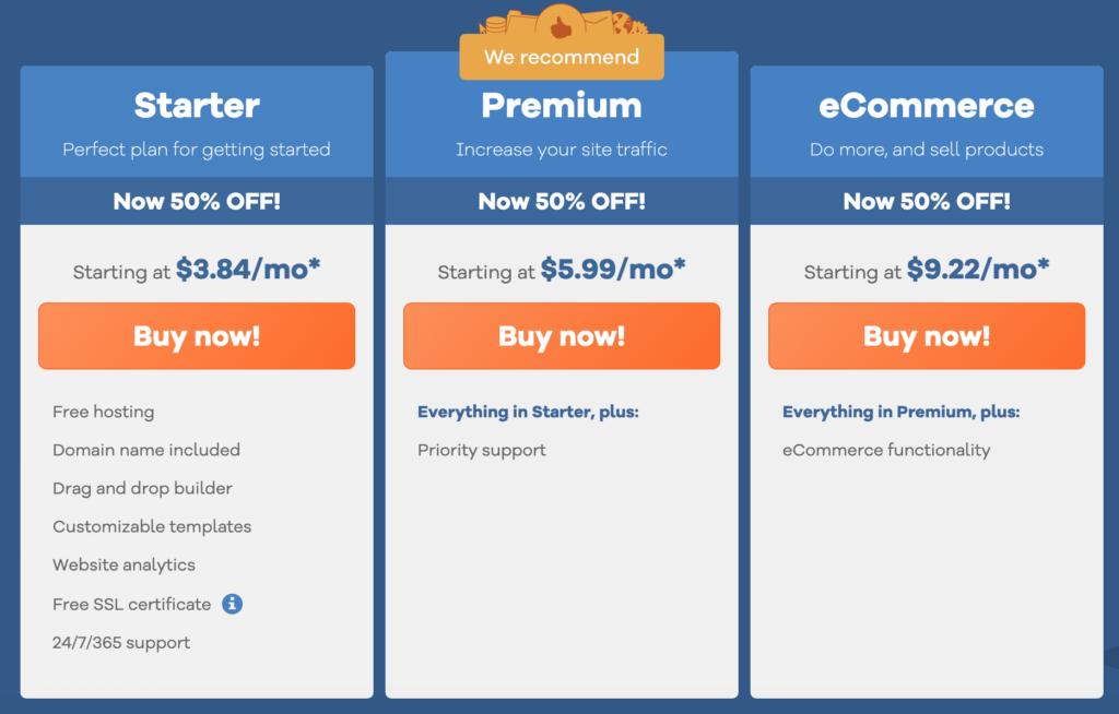 gator website builder pricing plans