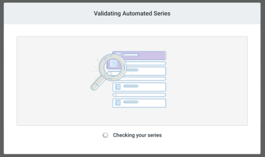 constant contact validating automated series