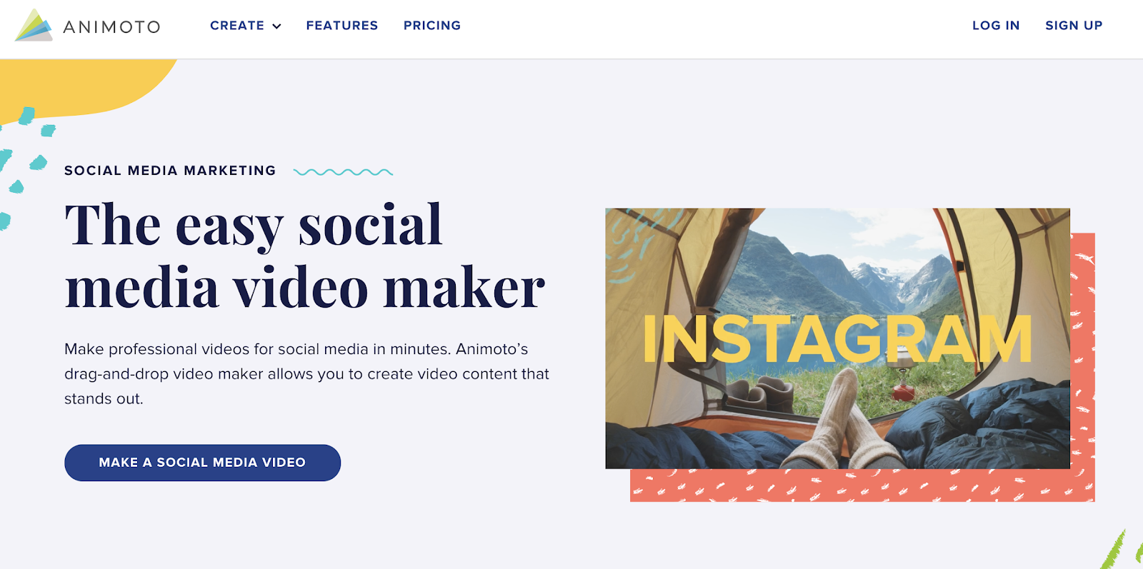 animoto social media video maker tool