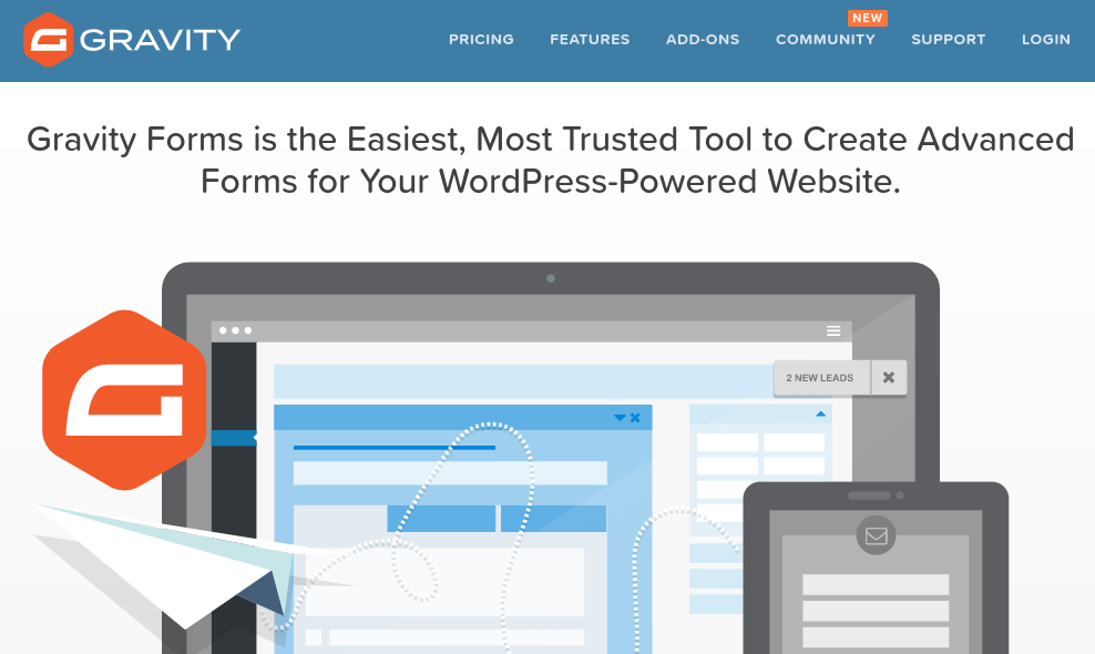 gravity forms wordpress survey plugin