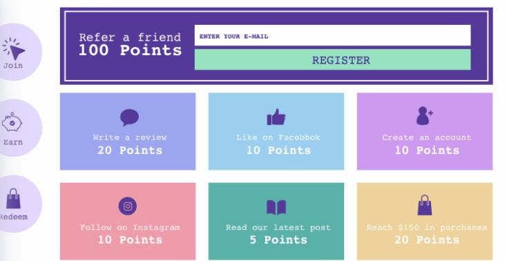 yotpo loyalty points program for ecommerce