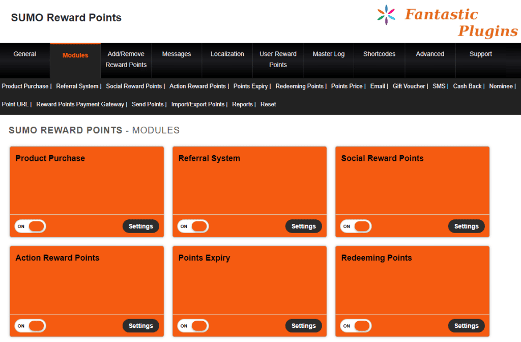 sumo reward points ecommerce loyalty program plugin