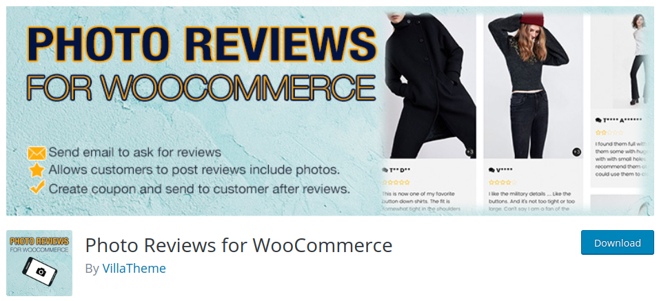 photo reviews for woocommerce plugin