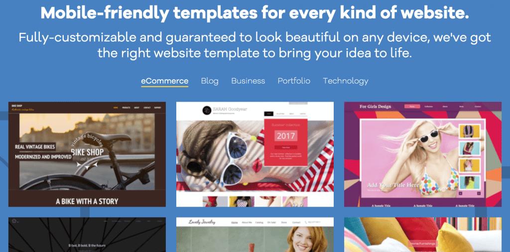 gator website builder design templates
