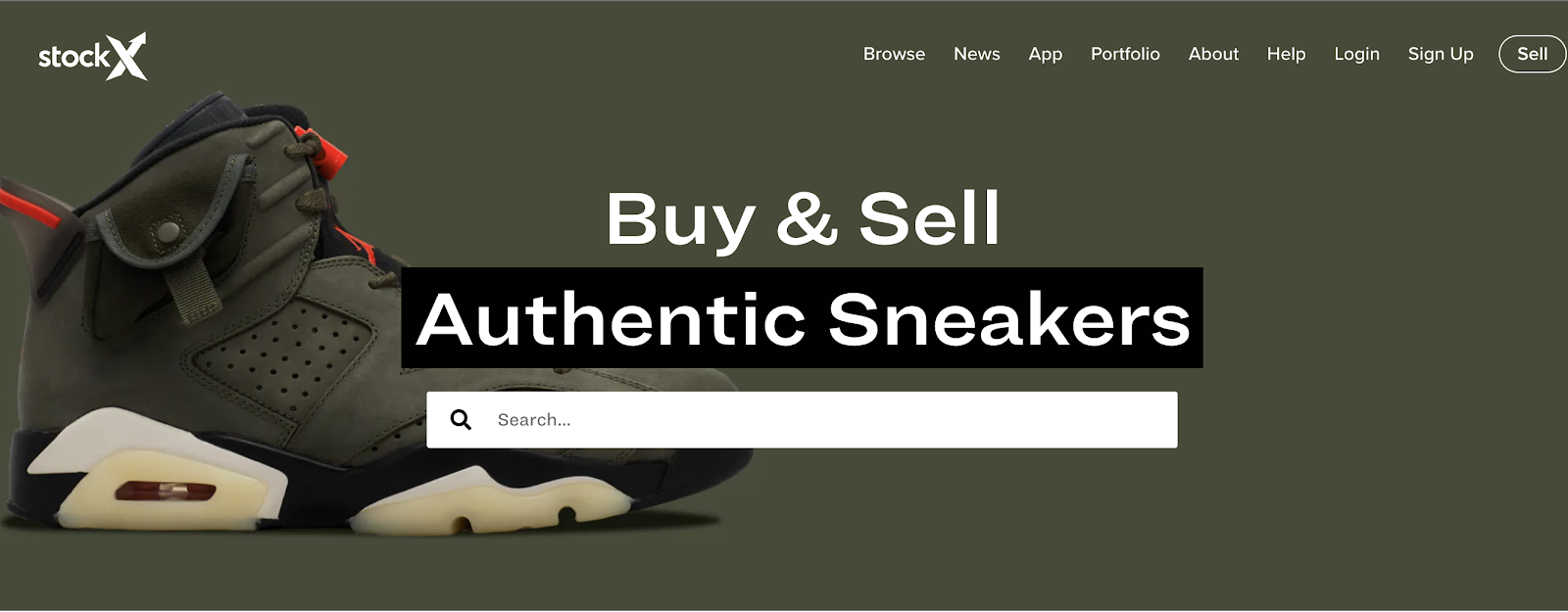 stockx ecommerce marketplace for shoes