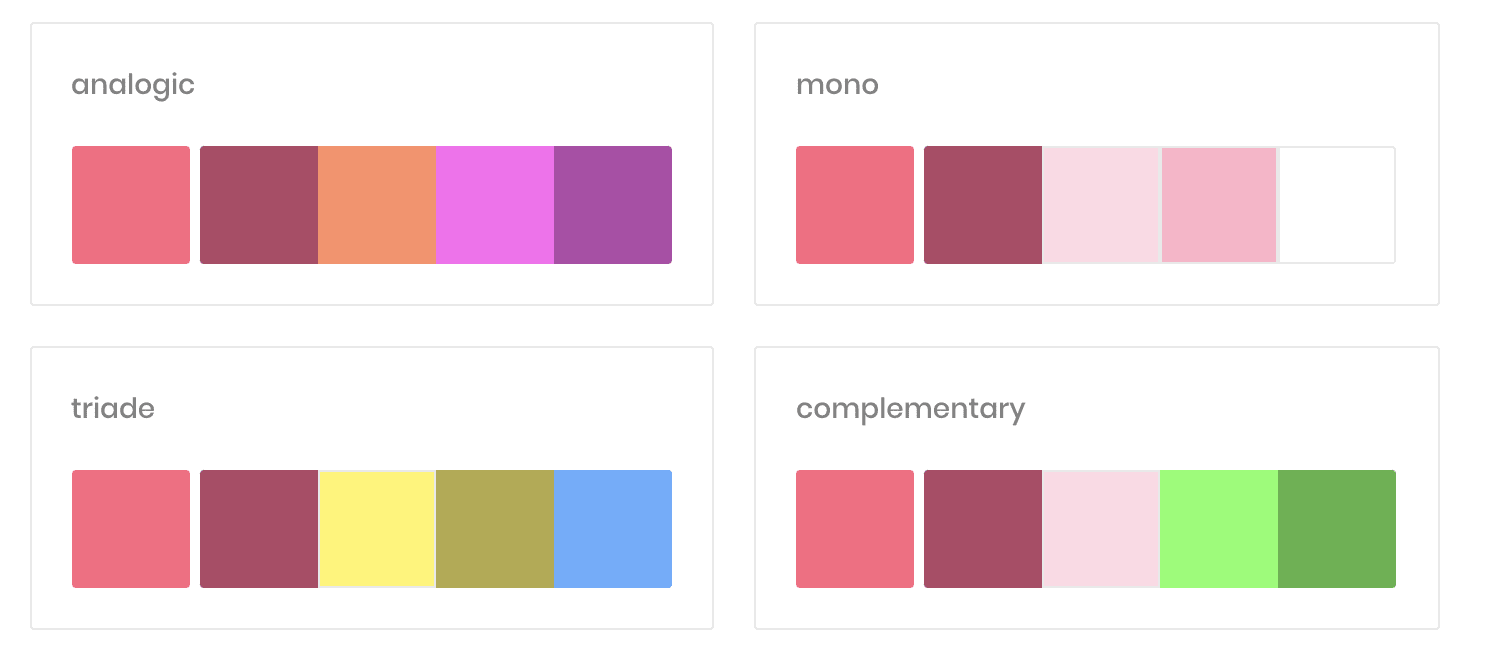 muzli colors by invision color palette generator for websites
