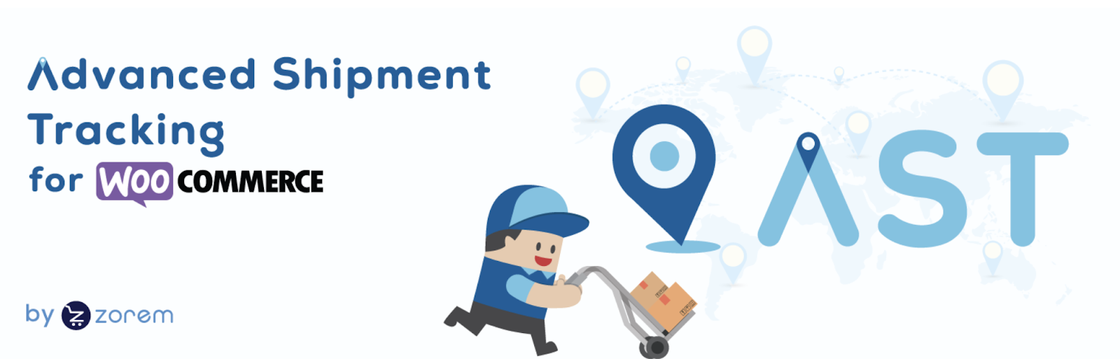 Advanced Shipment Tracking for WooCommerce plugin