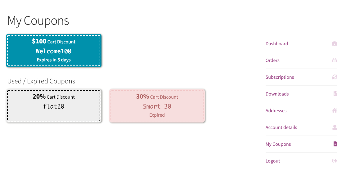 smart coupons for woocommerce
