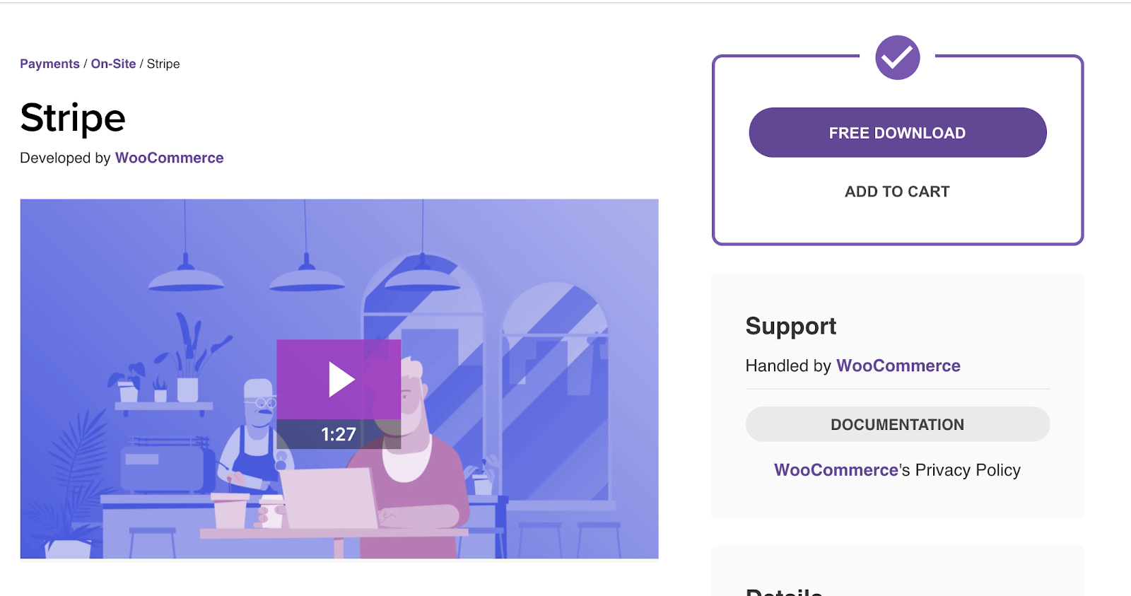 download woocommerce extension