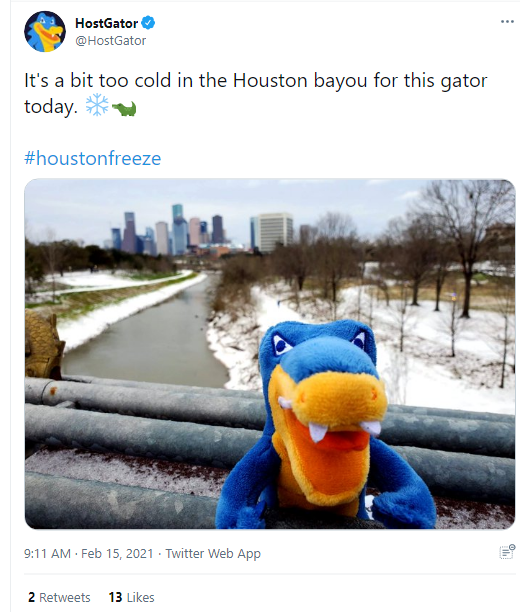 hostgator hashtags