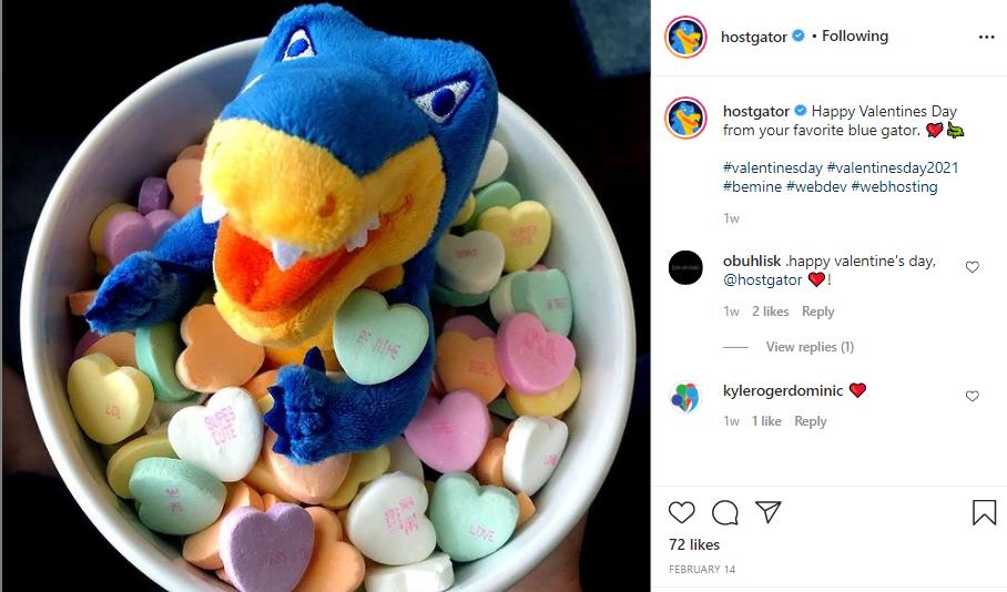 hostgator swag contest on instagram