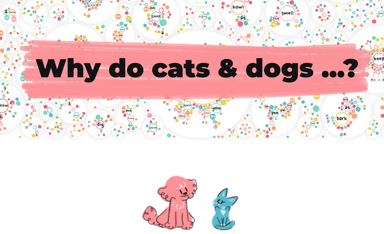 why do cats and dogs data visualization