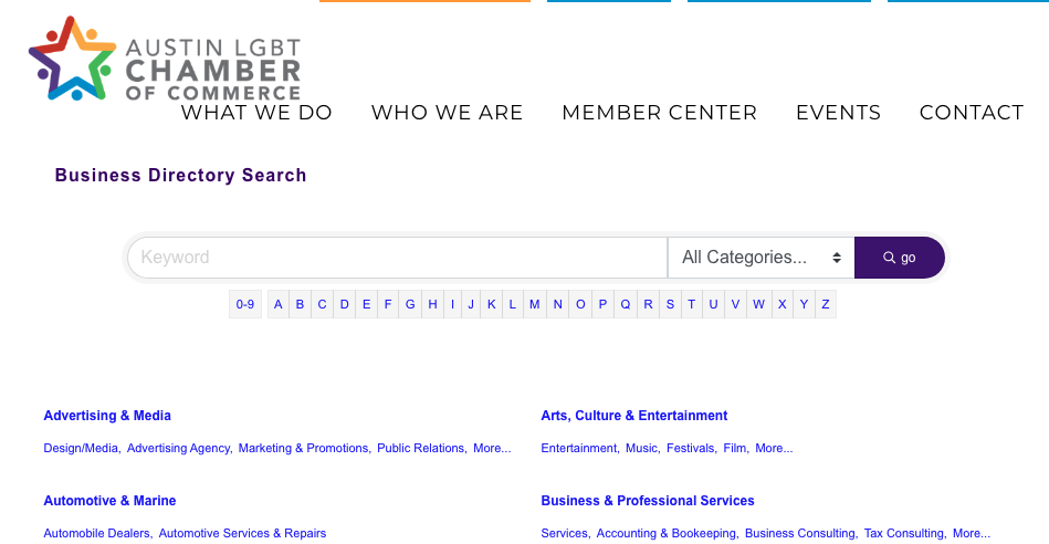 link building through professional organizations and local directories