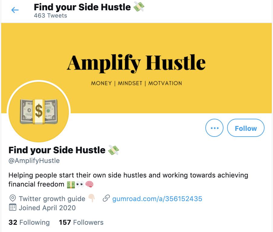 amplify hustle twitter