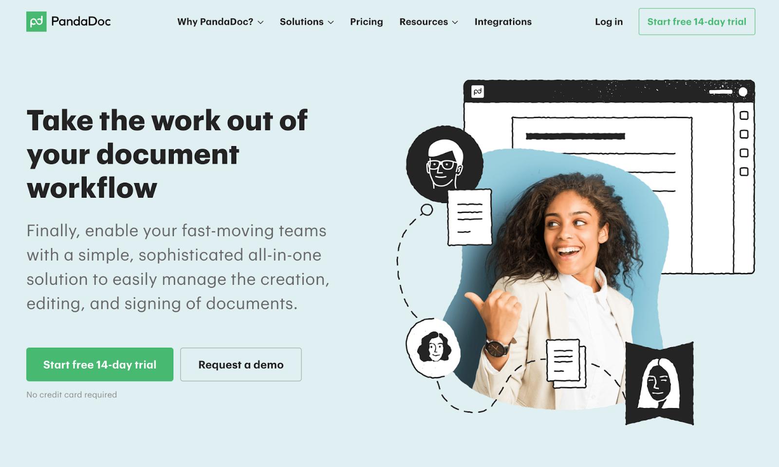 pandadoc proposal software for freelancers